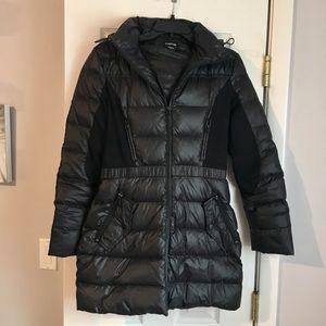 Bebe Black Puffer Winter Coat